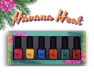 [💅🏻KL POLISH PO] KL Kathleen Lights Polish new in Havana Heat collection PO