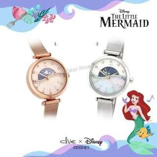 🇰🇷CLUE The Little Mermaid Ariel Watch 小魚仙手錶