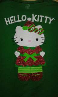 Hello kitty xxl on tag but can fit to large