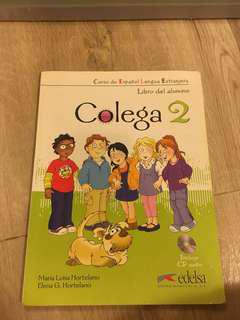 兒童 西班牙語 課本+習作