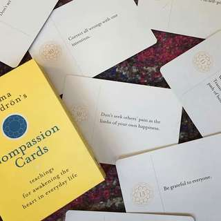 Compassion Cards by Pema Chodron