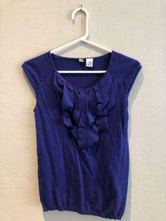Anthropologie silk and cashmere tank xs