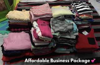 Preloved Clothes Business Package