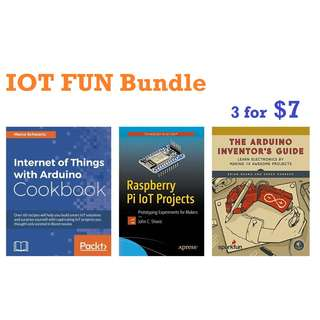 ebooks: Internet of Things (IOT) fun bundle (3x ebooks)
