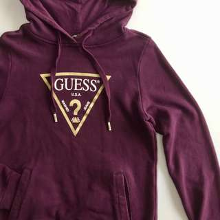 GUESS plum pullover