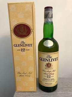 Glenlivet 12年(舊裝)