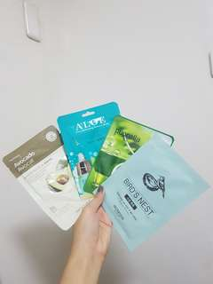 MASKS! THE FACESHOP, SKIN FOOD