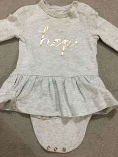 Cotton On Baby Romper with Skirt