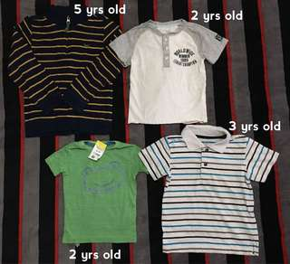 Preloved Kids Clothes
