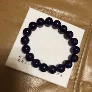 天然紫水晶手鏈