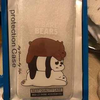 全新 we bare bears iphone 7plus 8plus case