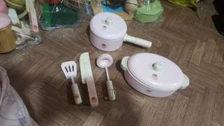 mother garden wooden kitchen set