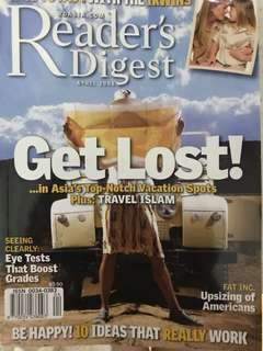 Readers Digest (Old ones, you can take all that I have)