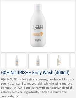 🚚 Amway G&H Nourish + Body Wash (400ml)