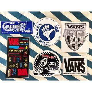 🚚 Vans vintage 貼紙 90年代出品 絕版 美國製 滑板 貼紙 收藏