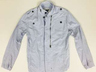 FOREVER21 Light Blue Casual Jacket