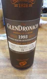 Glendronach 24yo 1993-2017#668