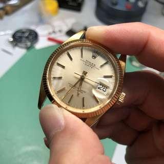 Rolex 1503 not 1500 1601 6694 18K
