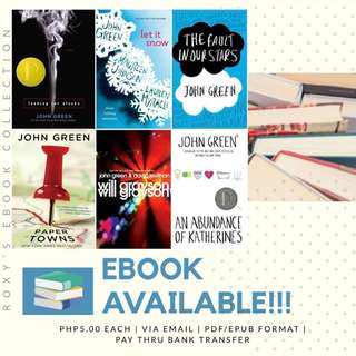 John Green Books (ebook)