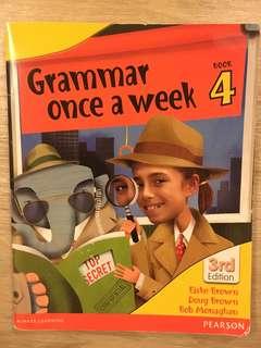 Grandma once a week Book 4 (Primary 4) ~ Pearson