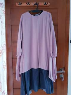 Twotone dress by EMA daily