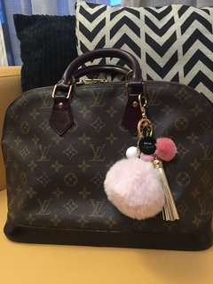 Customized Louis Vuitton Alma