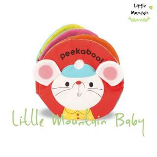 Peekaboo Baby Early Education Cloth Book