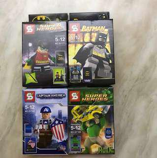 Super Heroes Figurines