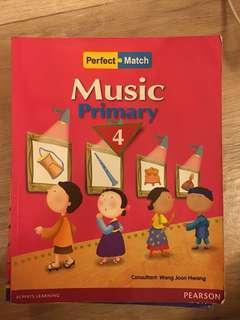 P4 Perfect Match Music ~ Pearson
