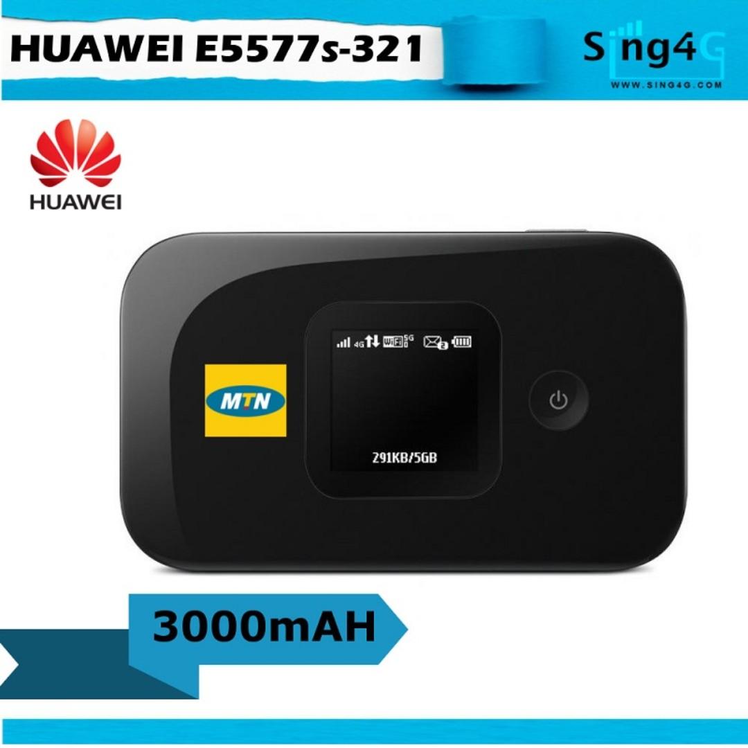 4G SIM MIFI HUAWEI E5577 (4G 150mbps 10WIFI Share Max 6 or 10hr)