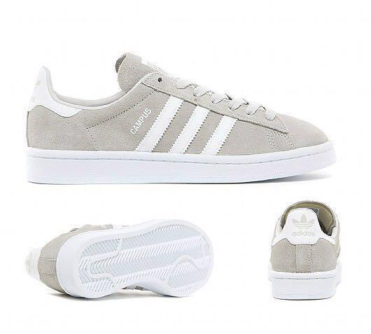 adidas campus light grey