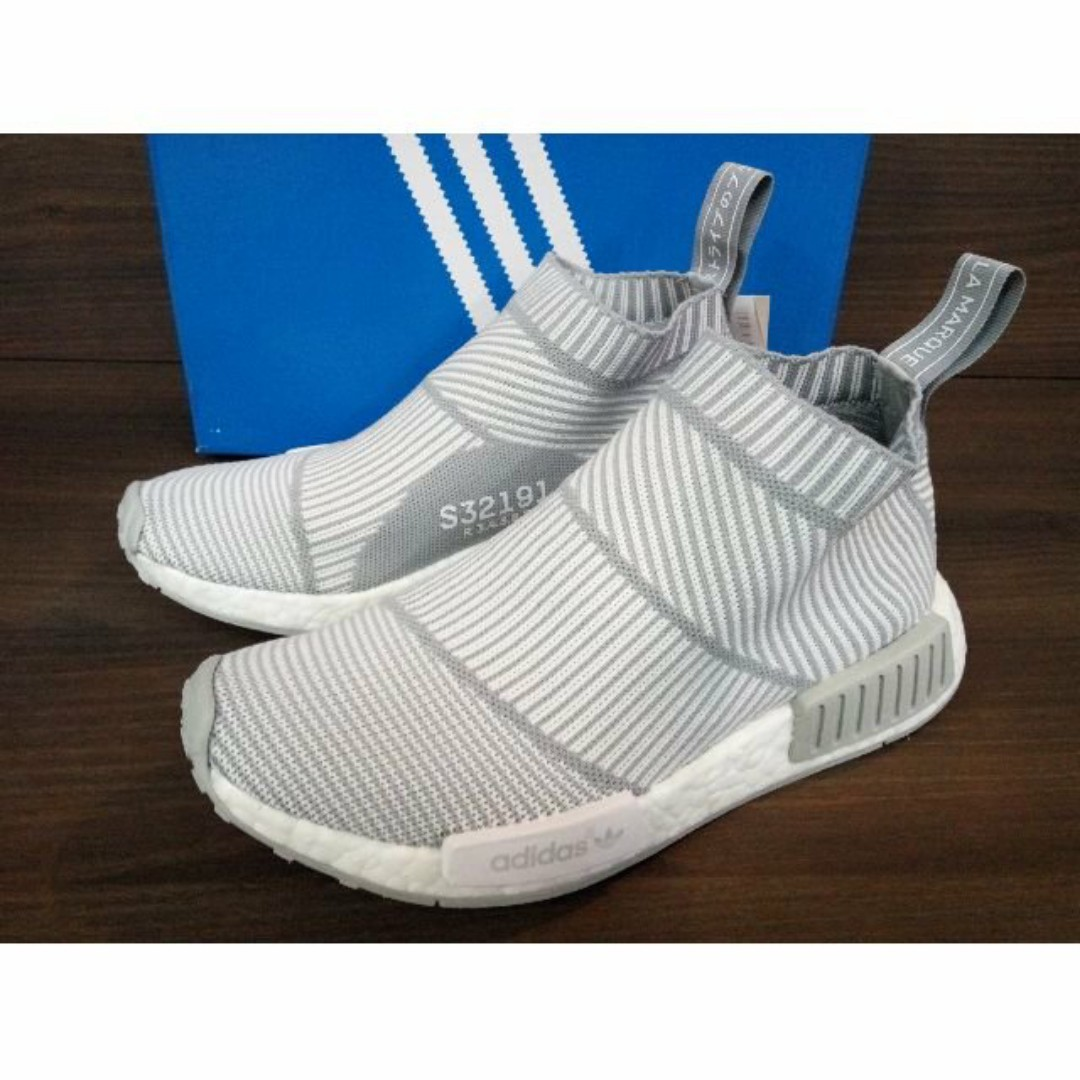 new style 0d4d4 c31bf Adidas NMD CS1 City Sock Grey