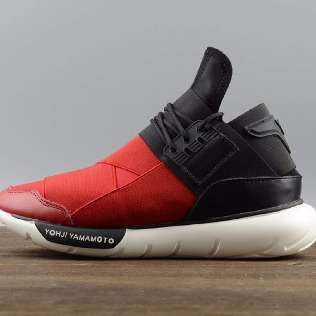 98a6de609 Adidas y3 - Qasa High Black Red