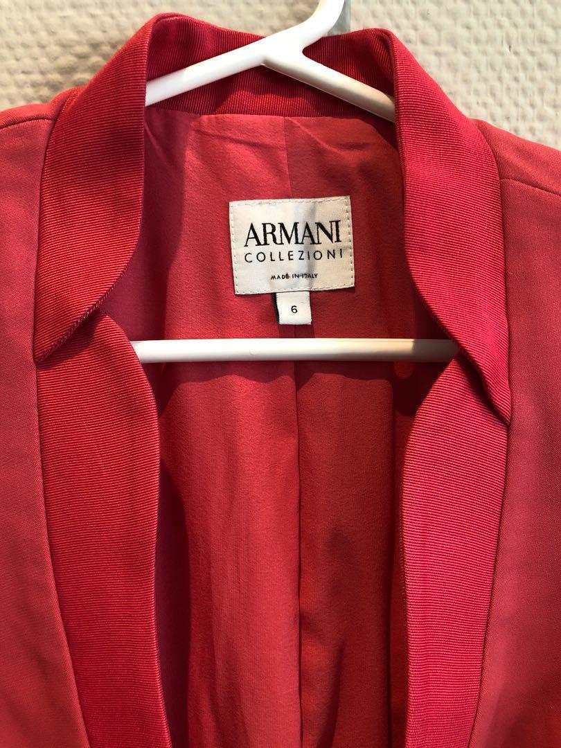 Armani blazer size 6 made in italy