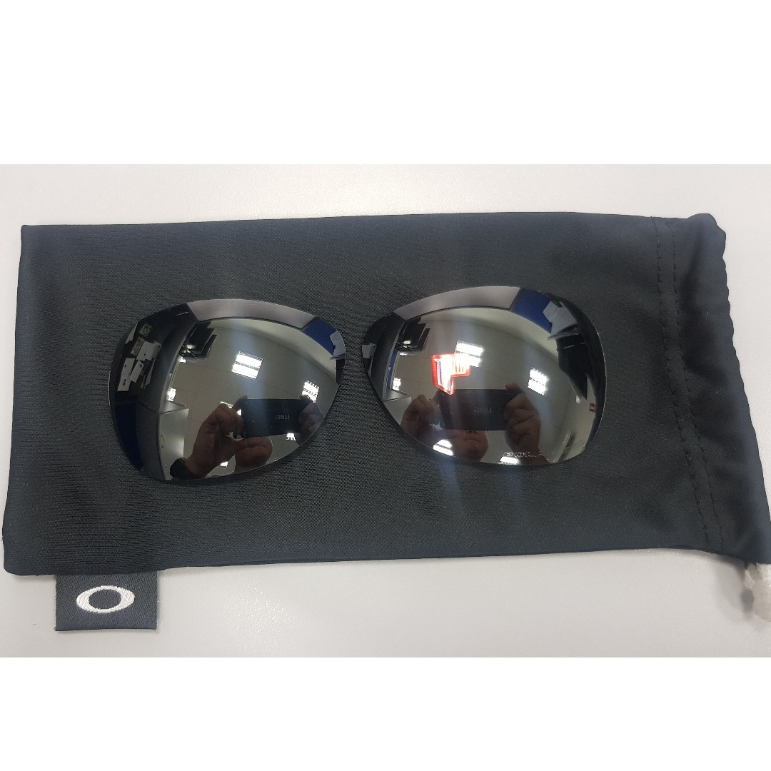 70f1c846b4e Authentic OAKLEY Titanium Crosshair Reaplacement Lens - OEM Black ...