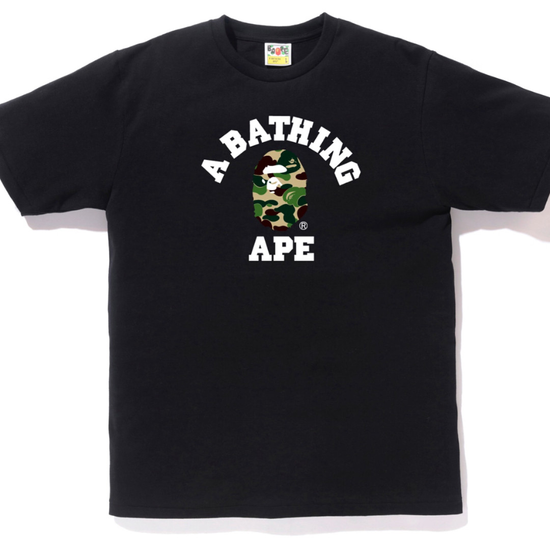 4586f50b1 Bape ABC College Tee, Men's Fashion, Clothes, Tops on Carousell
