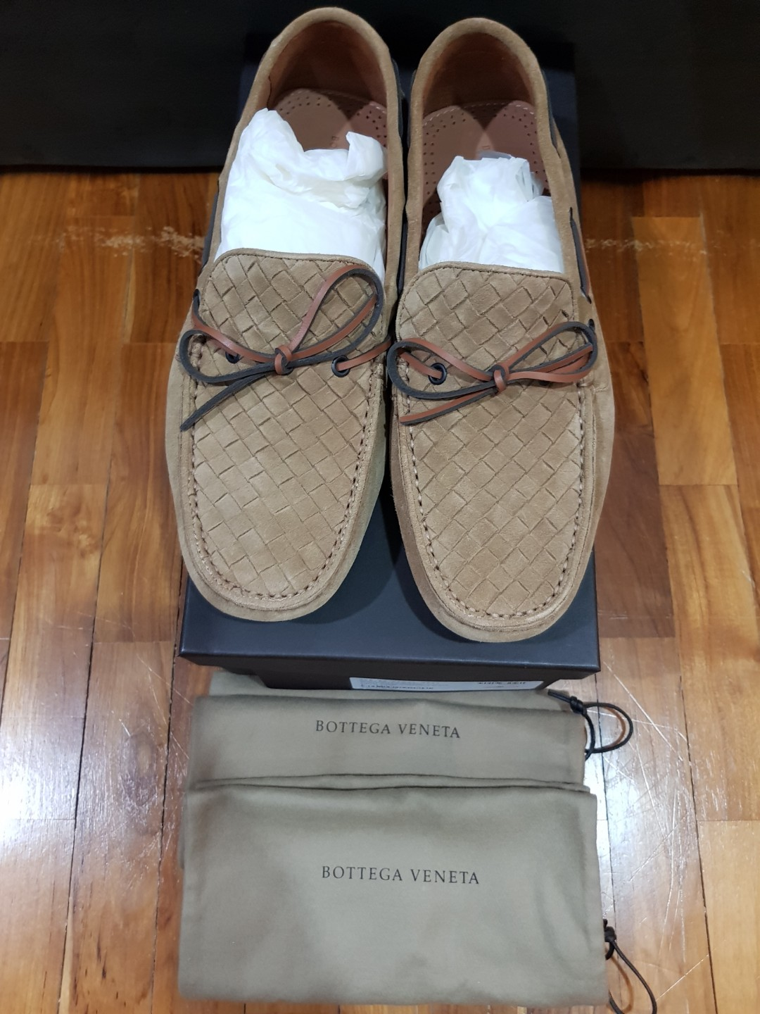 8e02d5bc957 Bottega Veneta Men Loafers 41.5 Like New