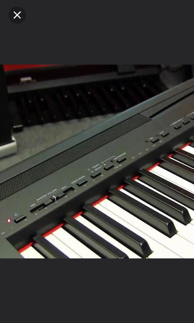 CHEAP!! P95 YAMAHA DIGITAL PIANO can slightly NeGo!