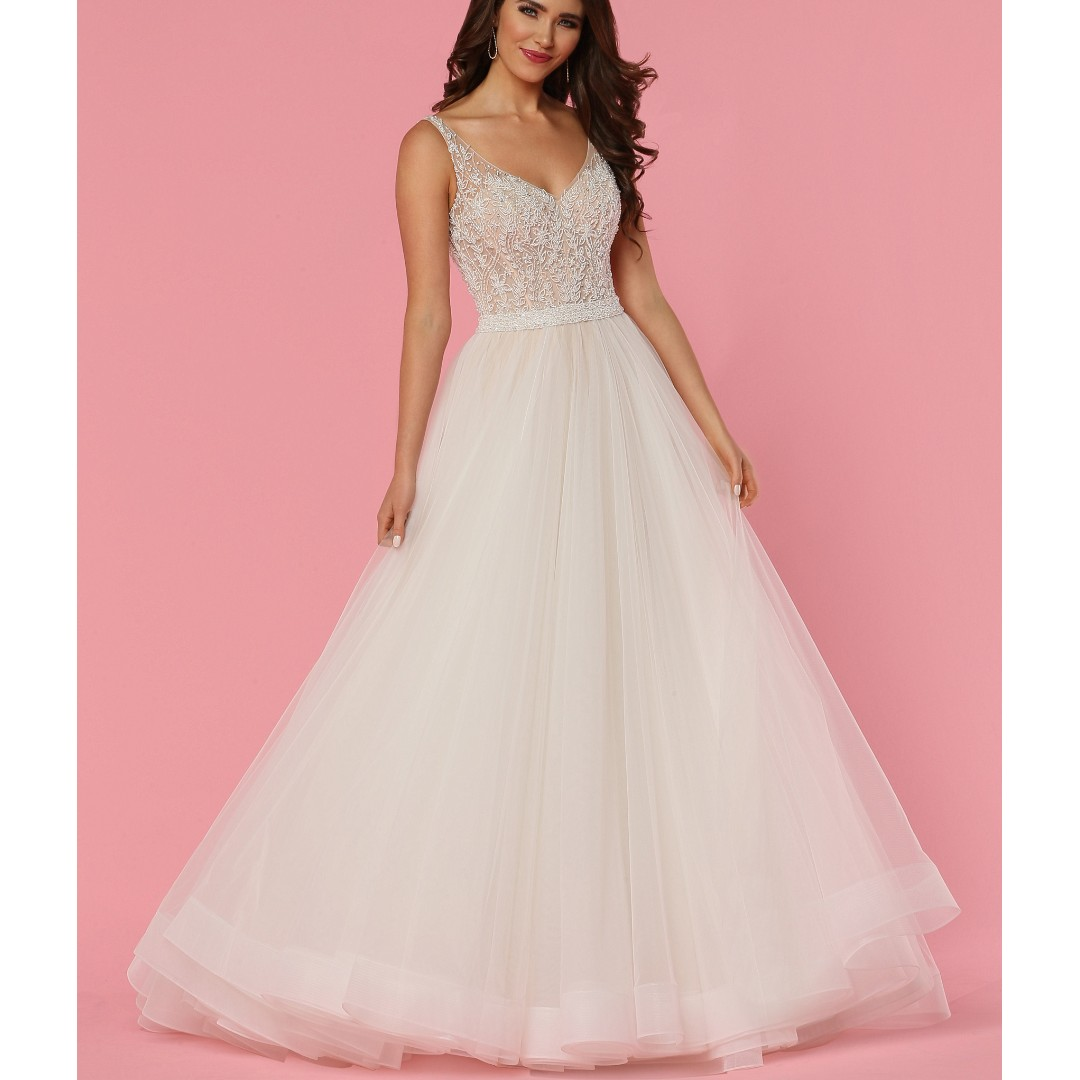 DaVinci Bridal Wedding Gown, Women\'s Fashion, Clothes, Dresses ...