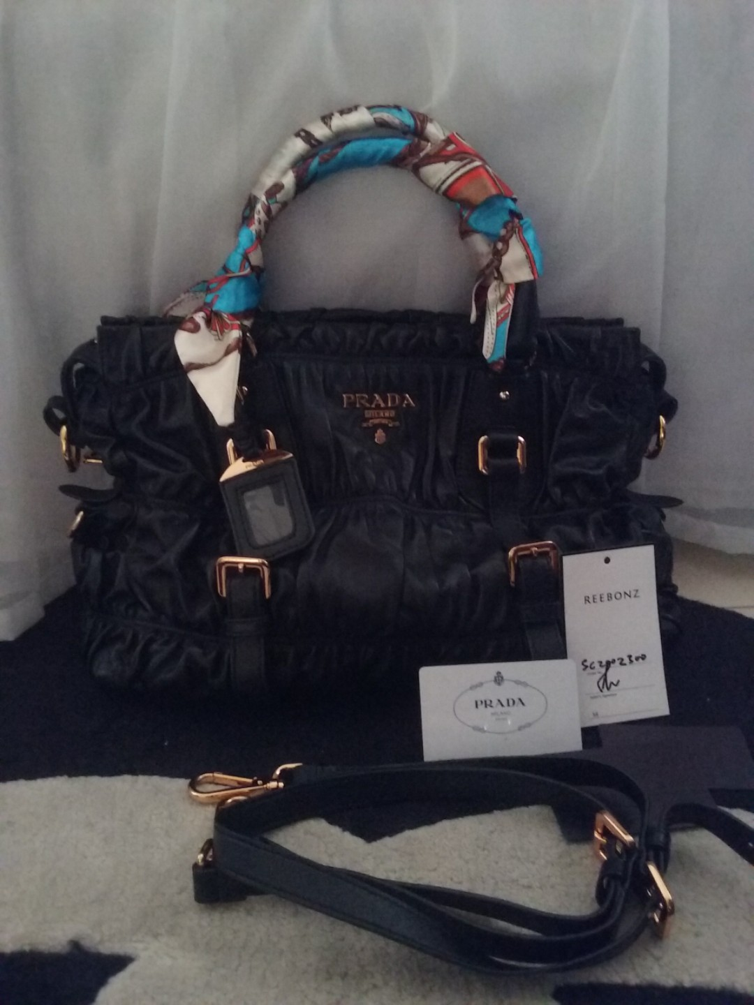 5ab80d48e1d2dc Fast deal! Reduced! Prada bag, Luxury, Bags & Wallets, Handbags on ...