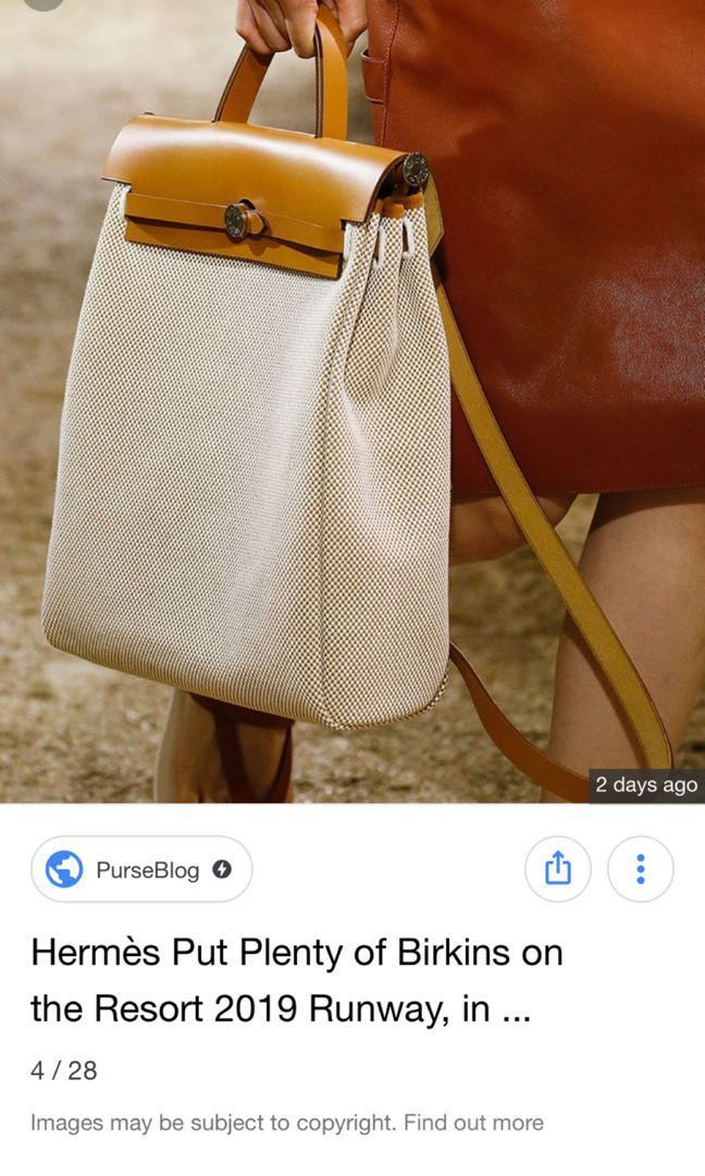 9bce70eb57eb FYI Hermes Resort 2019 Relaunched This Vintage Design!, Luxury, Bags &  Wallets, Handbags on Carousell