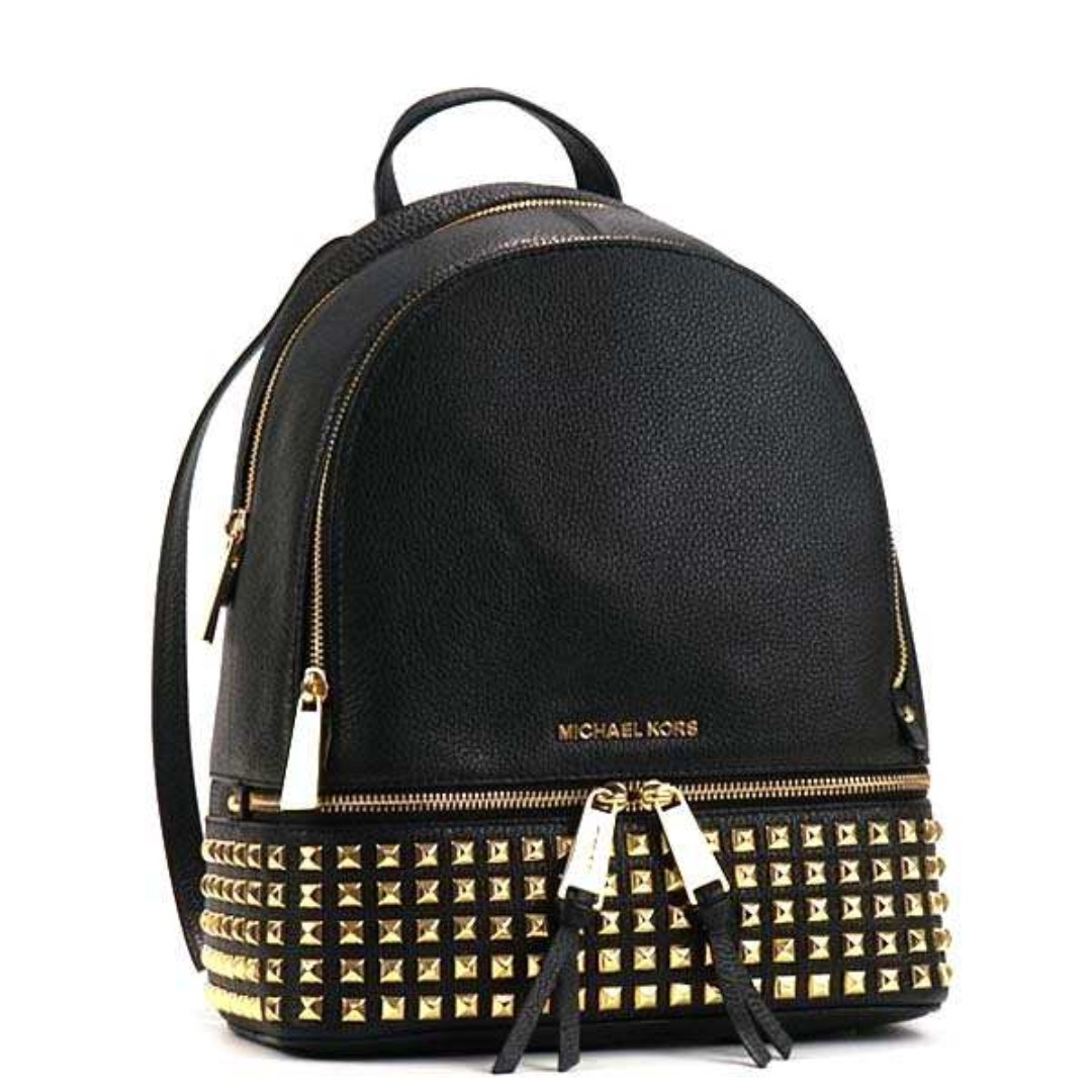 e3a3e5ba0bf36 Hot Selling! Authentic MK Michael Kors Rhea Small Medium Studded ...