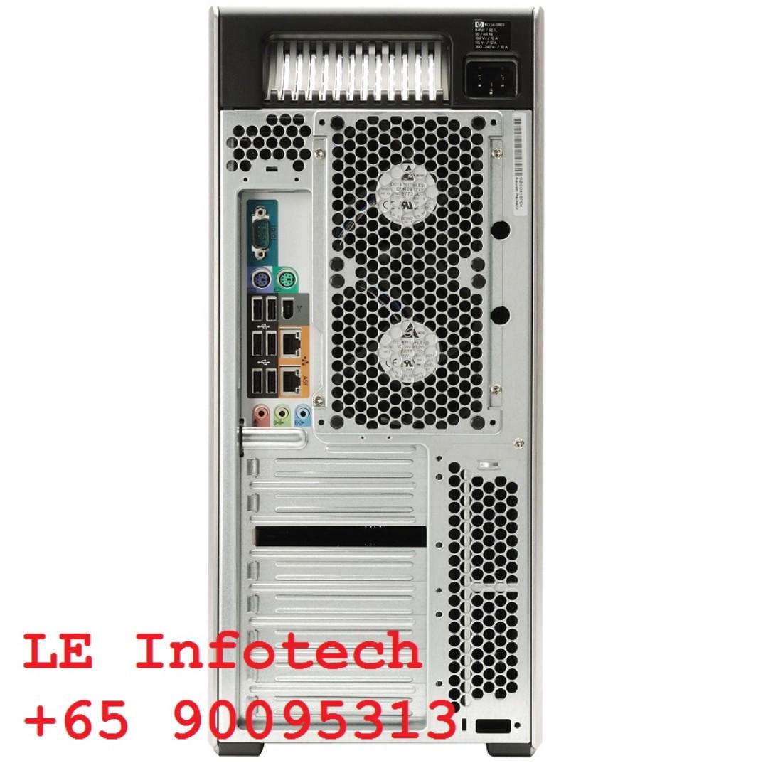 HP Z800 CAD Workstation 2xE5520 2 0Ghz 16GB FirePro W7000