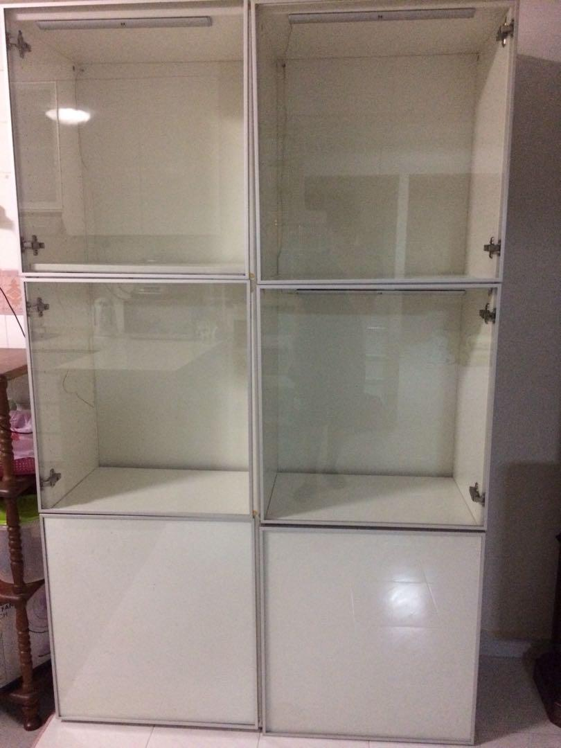 Ikea Besta Display Cabinet Furniture Shelves Drawers On Carousell