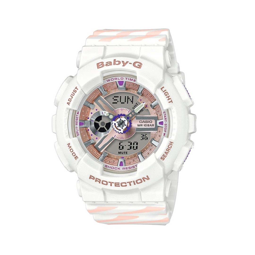 dc533184a Installment : CASIO BABY-G CHANCE PUNTO IT DESIGN WHITE WATCH BA ...