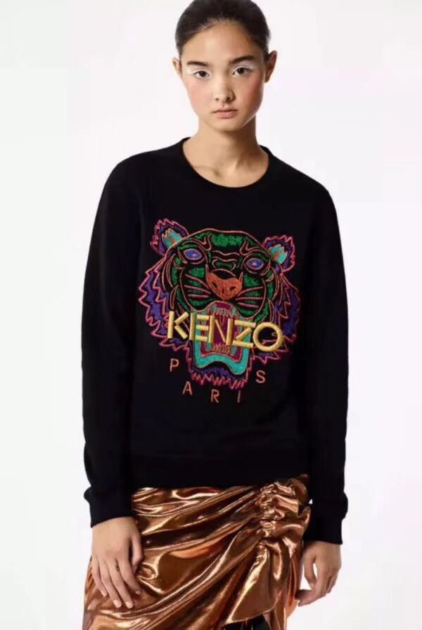 Kenzo Paris Tiger Shirt for Women Size S-XL 42b35feb03