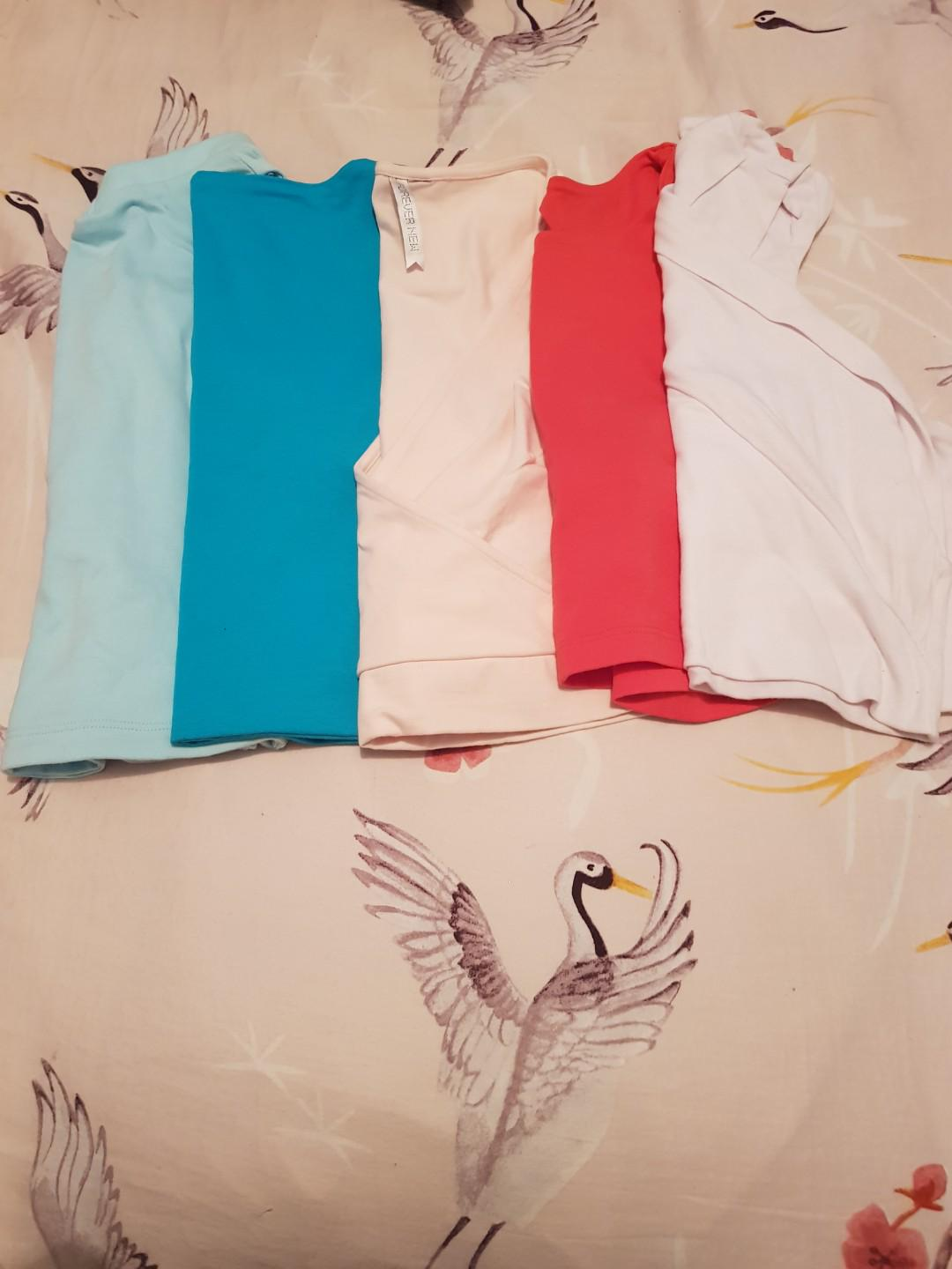 Kookai tops + one forever new