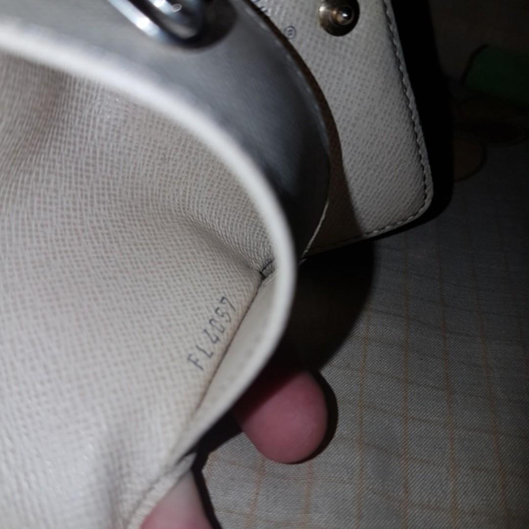 Louis Vuitton LV 4 Multicles damier azur original not hermes bally bottega salvatore