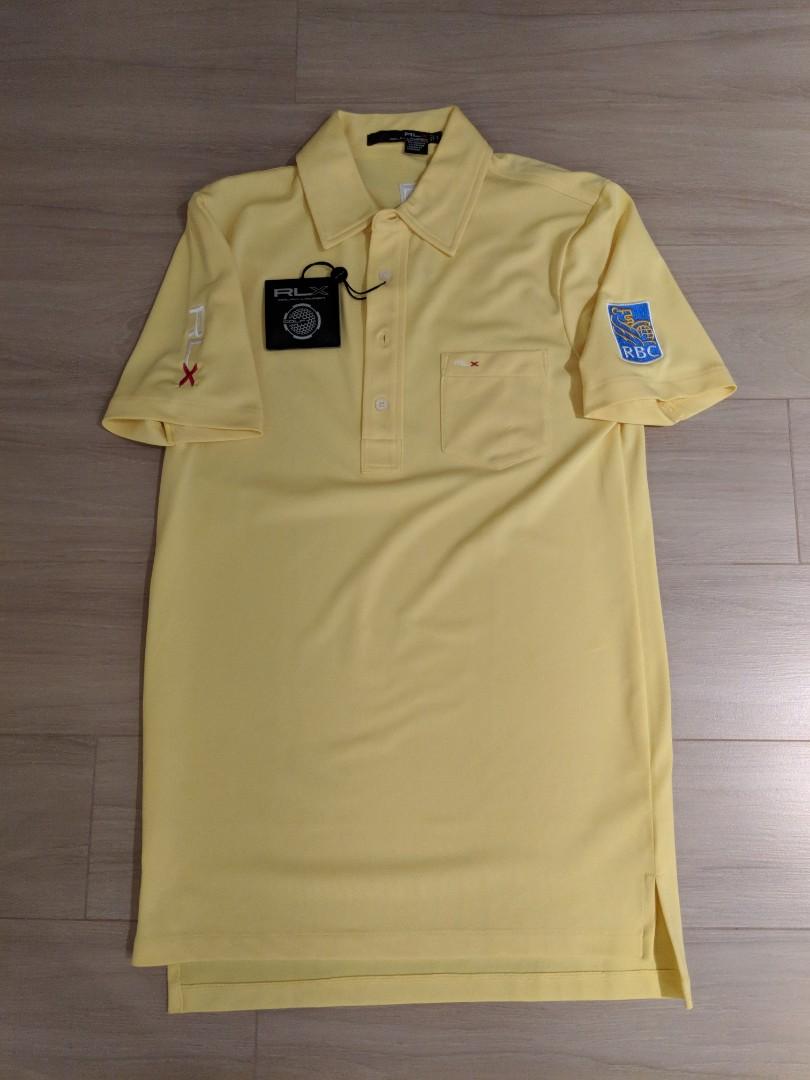 New Ralph Lauren Rlx Tour Issue Golf Polo Shirt Sz S Luke Donald