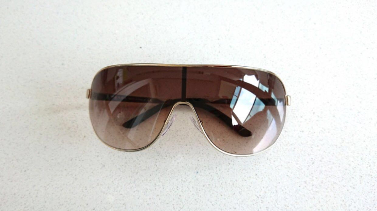 a1a51d38d640 ... coupon for prada aviator designer sunglasses authentic from italy. gold  f4931 fa76d